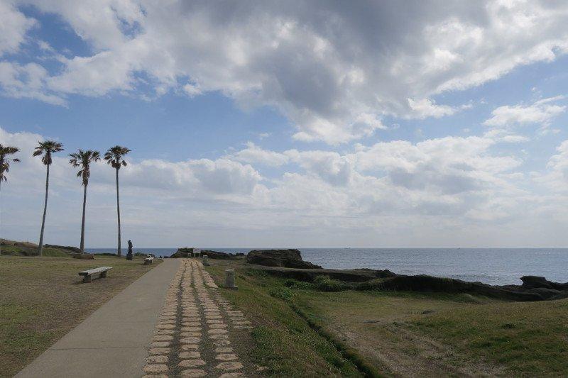 灯台周辺の散歩コース
